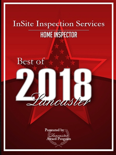 We won best Home Inspector of 2018!
